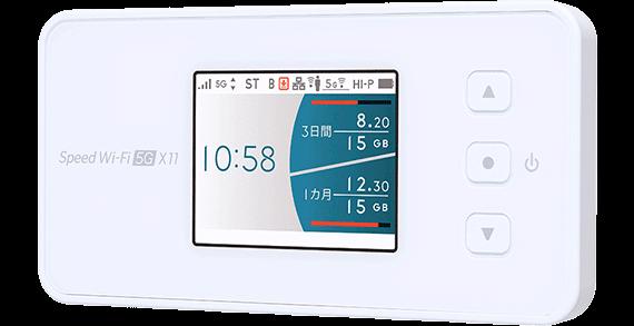 エリアの広いauの電波が使えるモバイルルーター W04