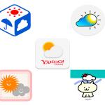 無料で使える!便利なおすすめ天気予報アプリ5選
