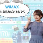 【5分でまるわかり】WiMAXに関する全ての疑問を徹底解説!