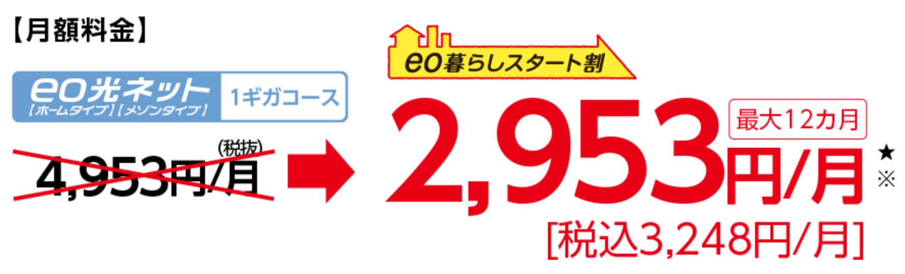 eo光スタートキャンペーン