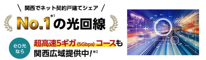 eo光 関西No.1