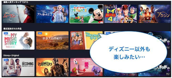 ディズニープラス テレビ