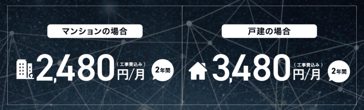 So-net光 月額料金