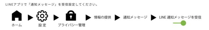 スマ電 LINE通知
